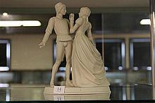 Franklin Mint 'Romeo and Juliet' Figural Group 1979
