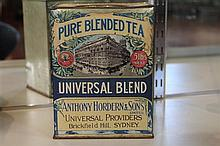 Early Anthony Hordern's Universal Tea Cannister