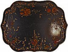 Victorian Papier-mâché Tray