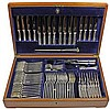 Silver Plated Canteen of Cutlery by Mappin & Webb