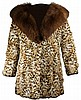 Wild Cat Fur Ladies Coat