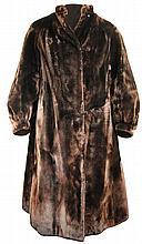 Beaver Fur Ladies Full Length Coat
