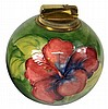 Moorcroft Hibiscus Table Cigarette Lighter