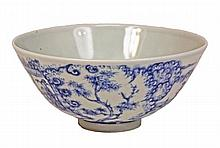 Chinese Fine Blue & White Bowl