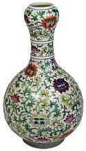 Chinese Fine Doucai Pear-Shaped Vase