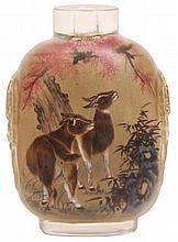 Chinese Inside Painted Snuff Bottle