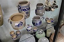 Collection of Salt Glazed Pottery Ware