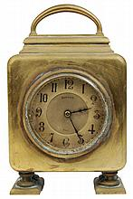 Maple & Co Paris Brass Mantle Clock