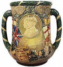 Royal Doulton Commemorative Loving Cup