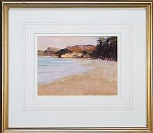 Ken Knight (1956 -) - Terrigal Beach 23 x 30cm