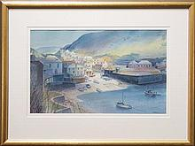 Kenneth Jack (1924 - 2006) - Port Isaac (Cornwall, England) 33 x 53cm