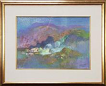 Vincent Brown (1901 - 2001) - Yatala Mountain 33 x 46cm