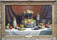 Friedlinger (XIX) - Still Life with Fruit 60 x 90cm