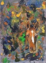 Greg Lipman - Abstract Horse 61 x 45cm