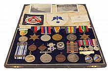 W.D McNamara War Medals, Awards & Related Ephemera