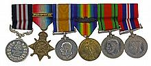 British WW1 Military Medal Group