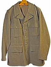 Australian WWII Tunic & Trousers, WW2 US Army Canvas Backpack & Two Water Bottles