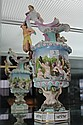 Continental Jug Adorned with Putti, Mermaids & Pan