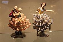 2 Dresden Dancing Figures