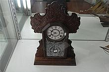 Ansonia Ginger Bread Clock (Key and Pendulum in office)