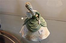 Royal Doulton Figure 'Soiree' HN2312 cracked