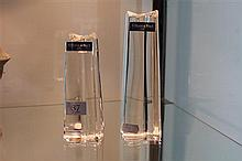 2 Villeroy and Boch Crystal Vases
