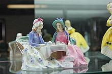 Royal Doulton 'Afternoon Tea' Figural Group HN 1747