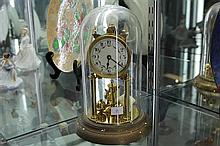 Shatz Glass Dome Clock