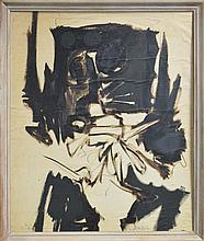 Emanuel Raft (1938 - ) - Abstract, 1962 86 x 75cm