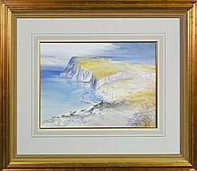 Kenneth Jack (1924 - 2006) - Capri Island From Anacapri 38 x 53cm
