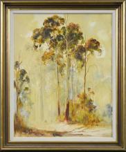 Kevin Best (1932 -2012) - Mountain Mist At Walcha 50 x 40cm