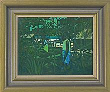 Ray Austin Crooke (1922-) - Beach Patterns, Tahiti 35 x 45cm
