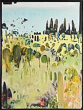 Matthew Simmons (1976 - ) - Landscape 121.5 x 91cm