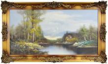 Sally K. Smith (XX) - Country Scene 60 x 120cm