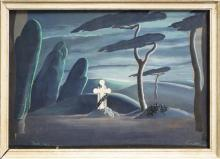William Henry Archibald Constable (1906 - 1989) - Giselle, Act II, 1942 36 x 56cm