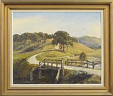 Doug Sealy (1937 - ) - Country Bridge 50 x 61cm