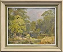 Reginald Jerrold-Nathan (1889 - 1979) - Turramurra, Sydney 40 x 51cm