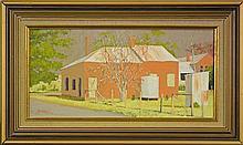 Wayne Miles (1948 - ) - Winter Day Near Hill End 19 x 39cm