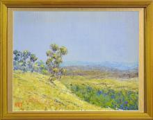 Howard B. Ireland (1939 - ) - Towards Bathurst 26 x 33cm
