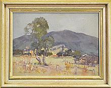 Allan Hansen (1911 - 2000) - Tumut Study 30 x 40cm