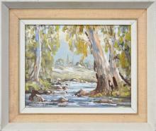 Ronald Peters (XX) - Landscape Near Mudgee 20 x 25cm
