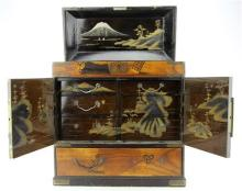 Japanese Lacquer Ware Cabinet