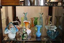 Art Glass Vases & Baskets