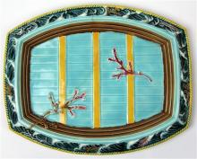 Wedgwood Majolica Waves Serving Platter