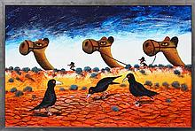 Howard William Steer and Paul Blahuta ('Blood Brothers') - Bound For Carpentaria 60 x 90cm