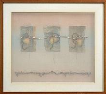 Kenneth Rowell (1920 -1999) - Study No.2 51 x 62cm