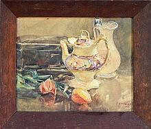Benjamin E. Minns (1864 - 1937) - Still Life 1912 29 x 37cm