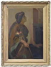 Eileen Boyd (XIX -XX) - Portrait of a Woman 75 x 49.5cm
