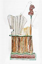 Benjamin Ross (XX) - Untitled 139 x 66cm