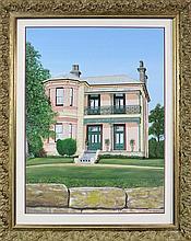 Brenda S - View of Residence 120 x 89cm